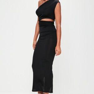 Dresses & Skirts - Black Bodycon Cut OUT MIDI Dress.